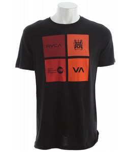 RVCA Multiply T-Shirt Black