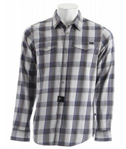 RVCA Noah Plaid L/S Shirt Cement