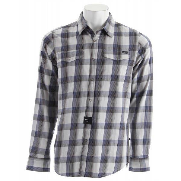 RVCA Noah Plaid L/S Shirt