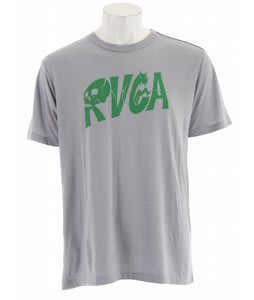 RVCA Old Skull RVCA T-Shirt Gray