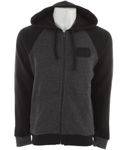 RVCA Overtime Zip Hoodie Black