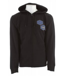 RVCA Patchy Hoodie Black