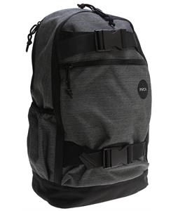 RVCA Push Skate Backpack Dark Charcoal 24L