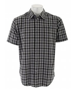RVCA Radio Plaid S/S Shirt Black