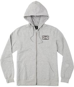 RVCA Red Patch Zip-Up Hoodie