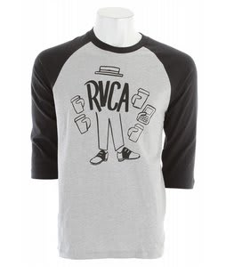 RVCA RVCA Coffee Raglan T-Shirt Athletic Heather