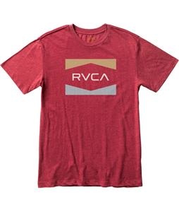 RVCA RVCA Nation T-Shirt Brick Red