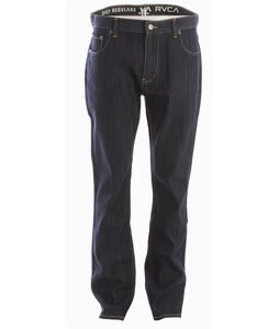 RVCA RVCA Regulars Jeans Raw Blue