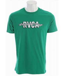 RVCA RVCA Sign T-Shirt Kelly Green