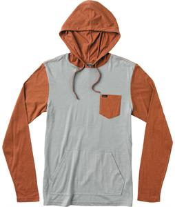 RVCA Set Up Hood Shirt Limestone Heather/Bossa Nova