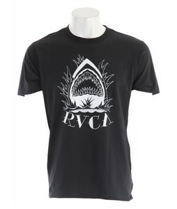 RVCA Shark Face T-Shirt Black