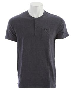 RVCA Shopkeeper Henley Ink Heather