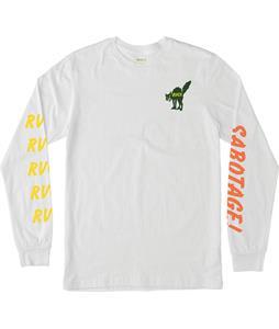 RVCA Snap Kitty L/S T-Shirt