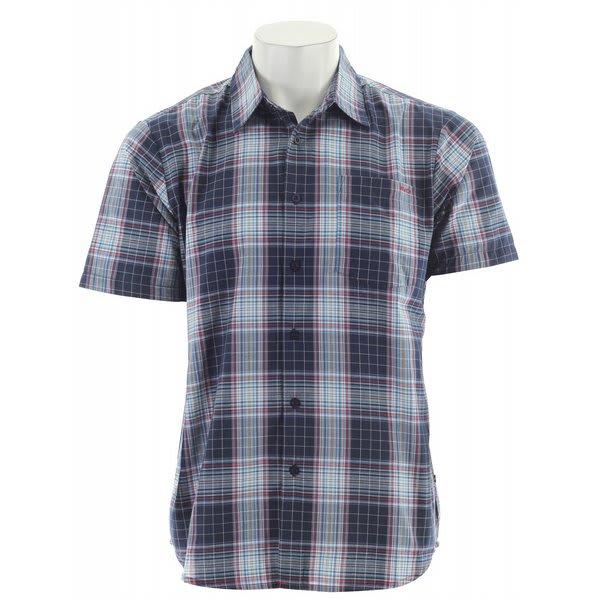 RVCA Spectrum Plaid S/S Shirt