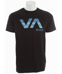 RVCA Stressed Va T-Shirt Black