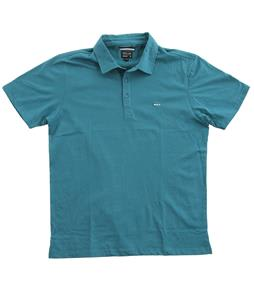 RVCA Sure Thing Polo Oasis Blue