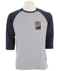 RVCA TG VA Raglan Athletic Heather/Midnight
