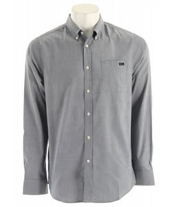 RVCA That'll Do Oxford L/S Shirt Docker Blue