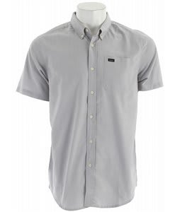 RVCA That'll Do Oxford Shirt Miner Gray