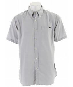 RVCA That'll Do Oxford S/S Shirt Miner Gray
