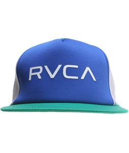 RVCA The RVCA Trucker II Cap Navy/Green