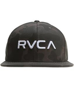 RVCA Twill Snapback III Cap