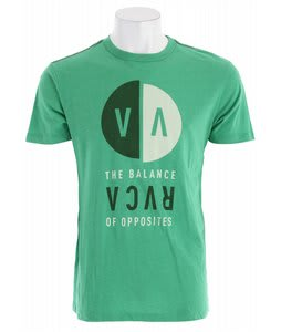 RVCA VA Detached T-Shirt Kelly Green