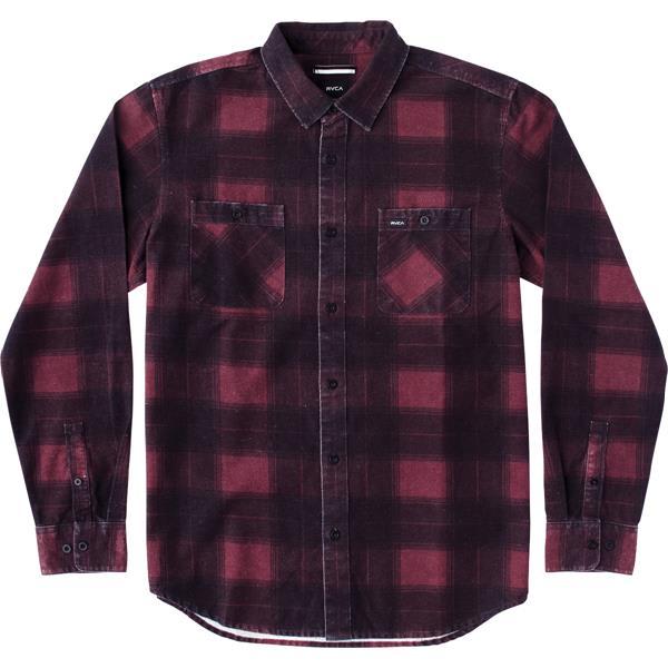 RVCA Wayman Plaid L/S Flannel