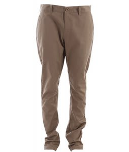 RVCA Week End Pants Dark Khaki