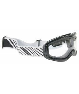 Ryders Fakie Goggles Gloss Black/Clear Lens