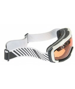 Ryders Fakie Goggles White/Amber Lens