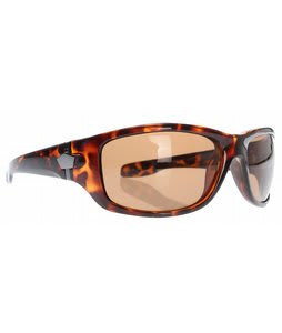 S4 Lo Down Sunglasses Brown Demi/Brown Polarized Lens