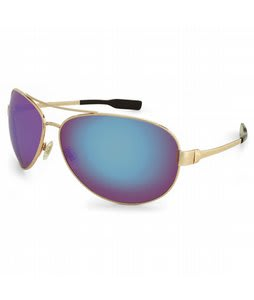 S4 Mac Sunglasses Gold/Gold Mirror Polarized Lens