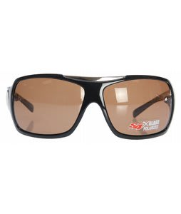 S4 The Dukes Sunglasses Black/Grey Polarized Lens