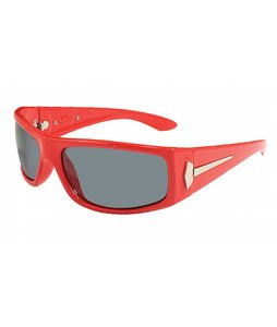 S4 The Grill Sunglasses S4 Red/Grey Polarized Lens