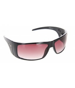 S4 Warped Sunglasses Black/Grey Gradient