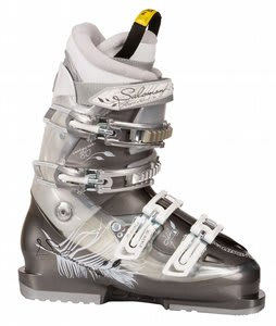 Salomon Idol 7 Ski Boots Charcoal/White Pearl