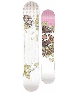 Salomon Radiant Snowboard White Paisley 154