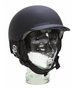 Salomon Brigade Audio Snowboard Helmet Matte Black
