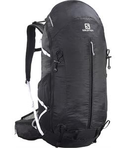 Salomon Synapse Flow 45 AW Backpack Black/Iron/White 45L