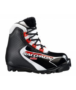 Salomon Mini Cross Country Ski Boots Black/Red