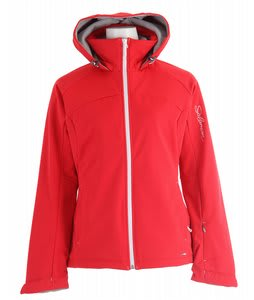 Salomon Snowtrip 3:1 III Ski Jacket Cerise/White