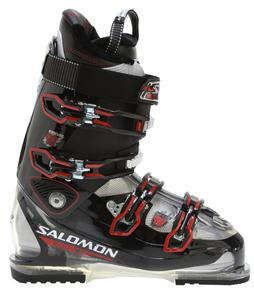 Salomon Impact 90 Ski Boots Black/Crystal Translucent