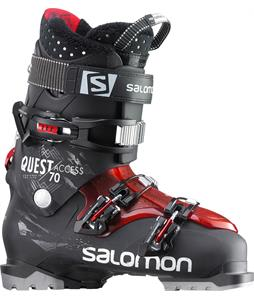 Salomon Quest Access 70 Ski Boots Black/Red
