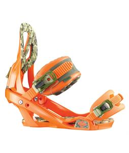 Salomon Arcade Snowboard Bindings Orange