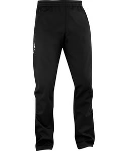 Salomon Active III Softshell Cross Country Ski Pants Black