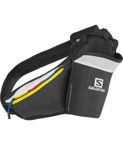 Salomon Active Insulated Hydration Belt Black/Yellow/ White 20oz