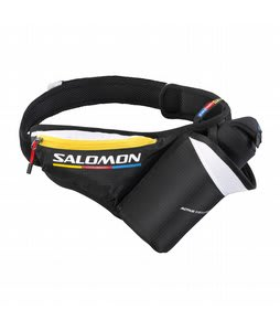Salomon Active Insulated Belt Backpack Black/Corona Yellow/White