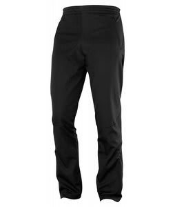 Salomon Active IV Softshell Cross Country Ski Pants Black
