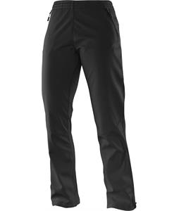 Salomon Active Softshell Cross Country Ski Pants Black